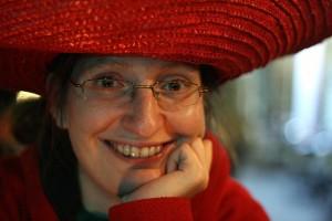 Sabrina Zelezny mit Sombrero